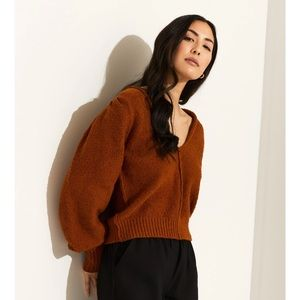 NEW Free People Reviere Pullover V Neck Sweater